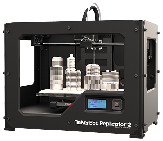 makerbot replicator 2 3d. Black Bedroom Furniture Sets. Home Design Ideas