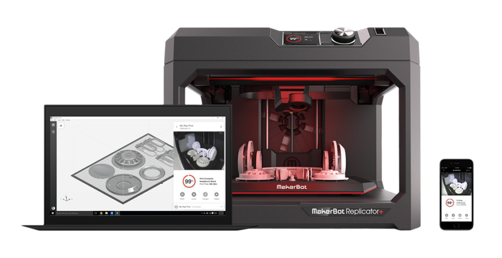 makerbot replicator+ serie