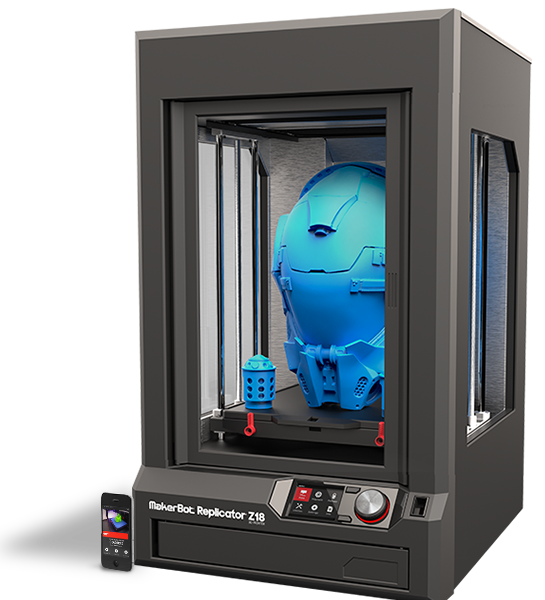 makerbot replicator z18 3d drucker