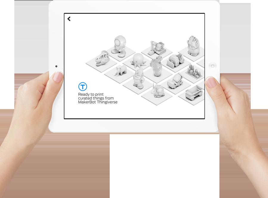 Makerbot Printshop