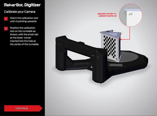 3D Scanner Software MakerBot Makerware