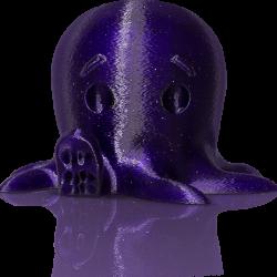 makerbot pla filament sparklydarkblue