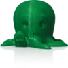 makerbot pla filament translucentgreen
