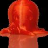 makerbot pla filament translucentorange