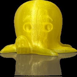 makerbot pla filament translucentyellow