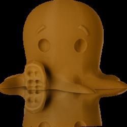 makerbot pla filament truebrown