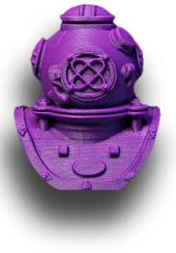 MakerBot ABS Filament truepurple