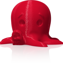 makerbot pla filament truered