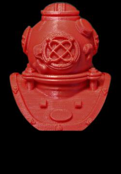 MakerBot ABS Filament DunkelRot