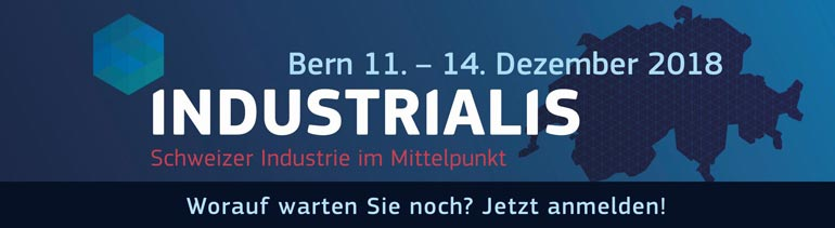 INDUSTRIALIS - Gratis Messe Ticket sichern!