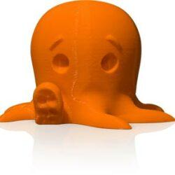 makerbot pla filament neon orange