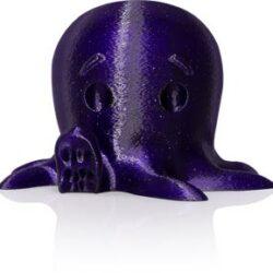 makerbot pla filament sparkly dark blue