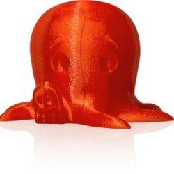 makerbot pla filament translucent orange