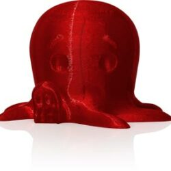 makerbot pla filament translucent red