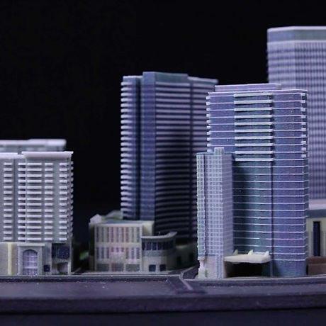3d drucker architektur modellbau vollfarbig