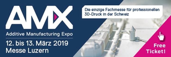 AMX Messe Luzern 2019 Gratis Ticket