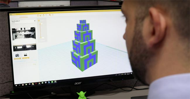 PartPro 300 xT | Professioneller Dual-Extrusion FFF 3D-Drucker | 3D-EDU