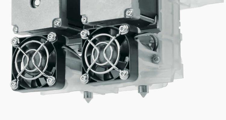 partpro300 xt fff 3d drucker mit dual extrusion