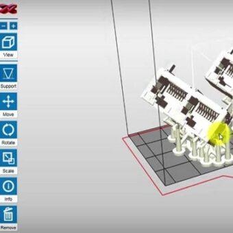 xyzprinting partpro 100 xp dlp 3d printer
